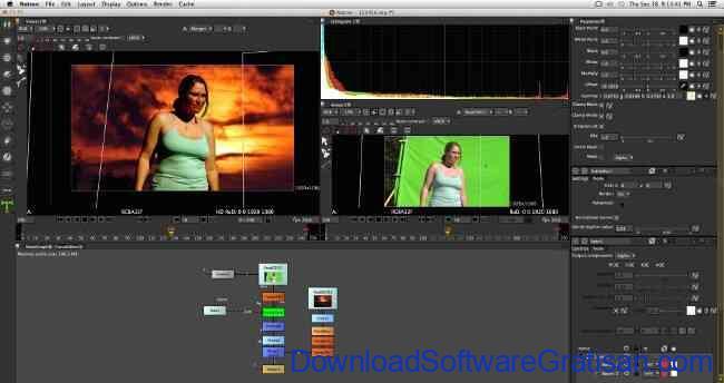 Aplikasi Edit Video PC Windows Gratis Terbaik natron
