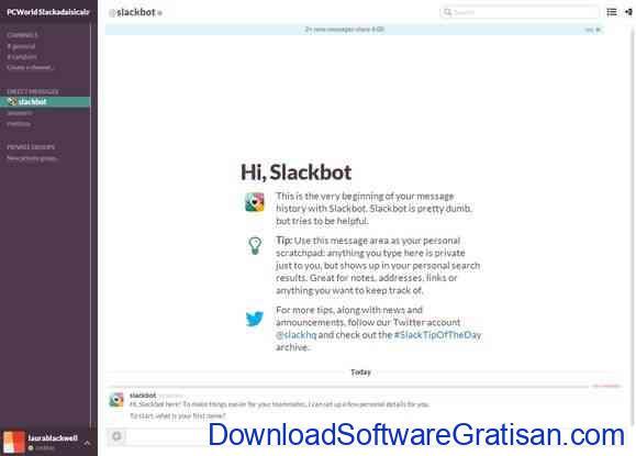 Bahkan Slack sendiri mengakui bahwa Slackbot juga memiliki keterbatasan.