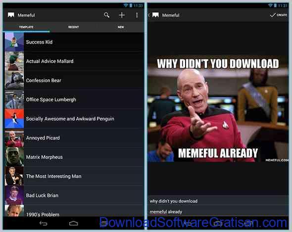 Aplikasi Pembuat Meme Terbaik untuk Android Best Meme Generator by Memeful