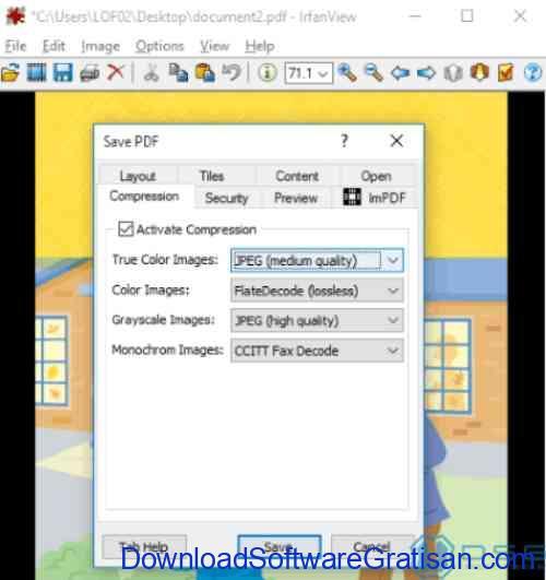 Aplikasi Kompres File PDF Offline Gratis IrfanView