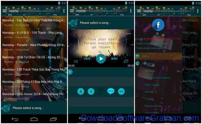 Aplikasi DJAndroid Terbaik Listen Dj Remix Nonstop Music
