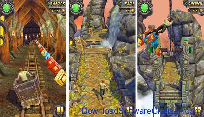 Game Android Offline Gratis Terbaik Temple Run 2