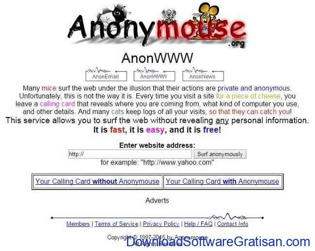 anonymouse-gratis