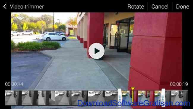 Cara Memotong Durasi Video di Hp Android cara memotong video trimmer samsung android