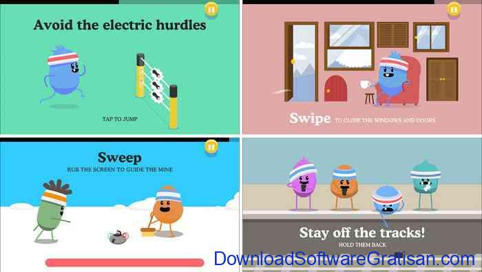 Game Android Offline Gratis Terbaik dumb ways to-die 2