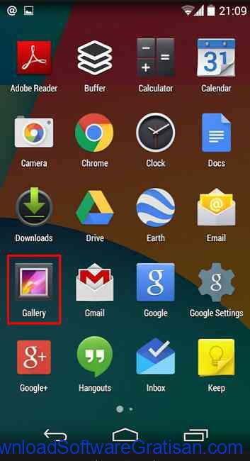 Cara Memotong Durasi Video di Hp Android gallery android