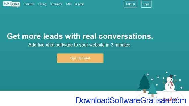 Aplikasi Gratis Terbaik untuk Live Chat di Website Kamu purechat