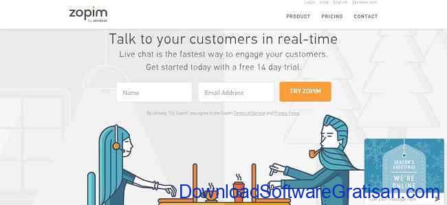 Aplikasi Gratis Terbaik untuk Live Chat di Website Kamu zopim