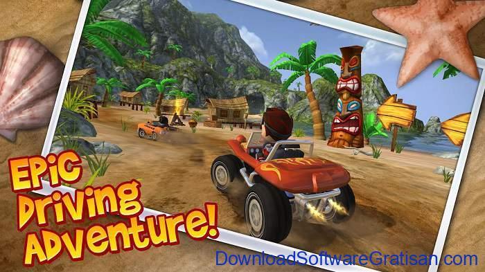 Game Balap Mobil Gratis untuk Hp Android Beach Buggy Blitz