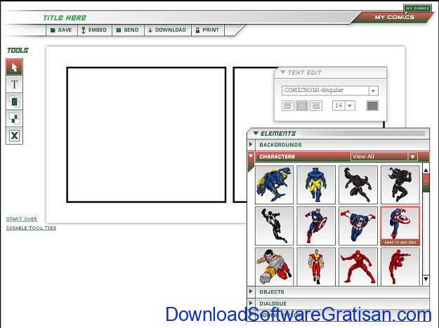 Cara Membuat Komik Sendiri dengan Cara yang Sederhana Create Your Own Comic by Marvel Sites