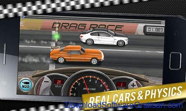Game Balap Mobil Gratis untuk Hp Android Drag Racing