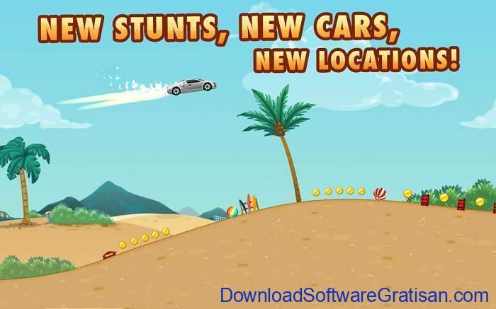 Game Balap Mobil Gratis untuk Hp Android Extreme Road Trip 2