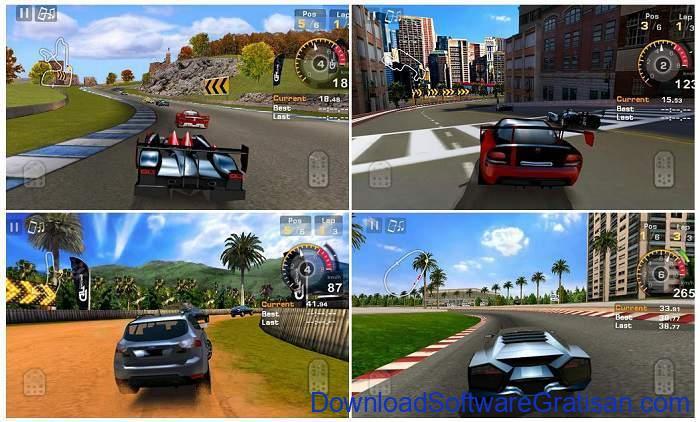 Game Balap Mobil Gratis untuk Hp Android GT Racing Motor Academy Free
