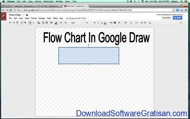 Google Drive flowchart