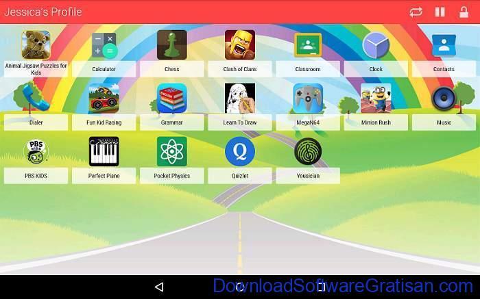 Aplikasi Pemantau HP Anak Gratis Terbaik Kids Zone Parental Controls