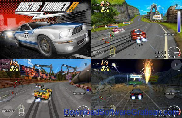 Game Balap Mobil Gratis untuk Hp Android Raging Thunder 2