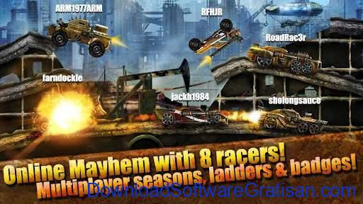 Game Balap Mobil Gratis untuk Hp Android Road warrior