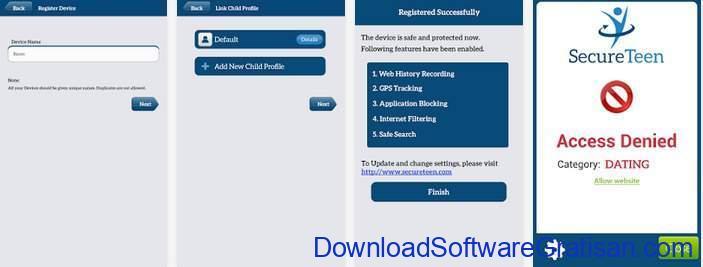 Aplikasi Pemantau HP Anak Gratis Terbaik SecureTeen Parental Control