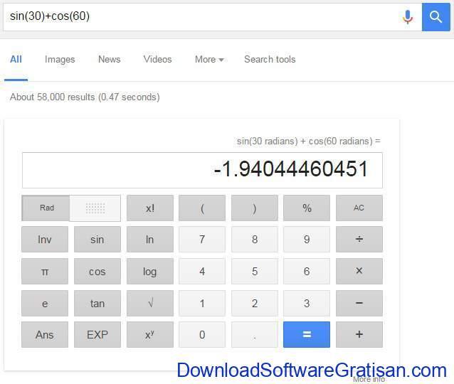 google-kalkulator