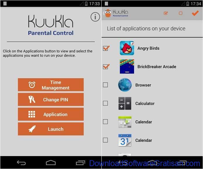 Aplikasi Pemantau HP Anak Gratis Terbaik kuukla parental control