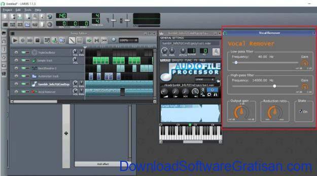 Aplikasi DJ untuk Edit & Remix Lagu Gratis Terbaik di PC lmms