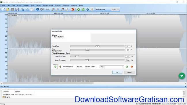 Aplikasi untuk Menghilangkan Suara Vokal pada Lagu nero wave editor