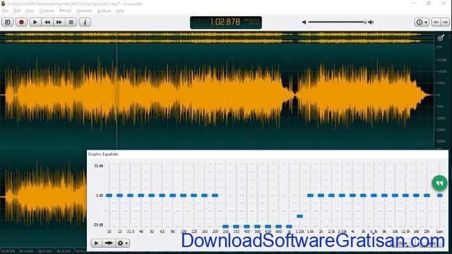 Aplikasi untuk Menghilangkan Suara Vokal pada Lagu ocenaudio