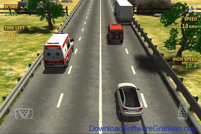 Game Balap Mobil Gratis untuk Hp Android traffic racer