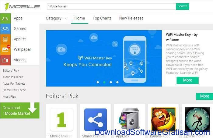 Situs Download Aplikasi Android Terpopuler & Terbaik 1mobile