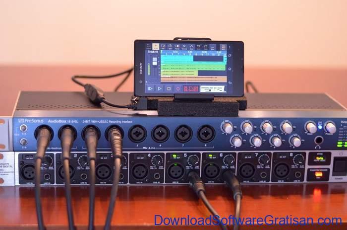 Aplikasi Pembuat Musik Gratis Terbaik untuk Android Audio Evolution Mobile Studio