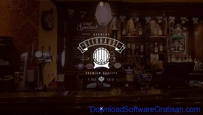 Beerhause Bar Website Template by Mikhail Nagaytsev