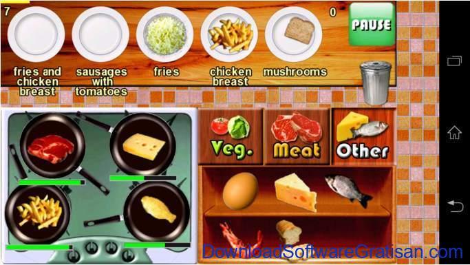 Game Memasak Gratis Android Bistro Cook