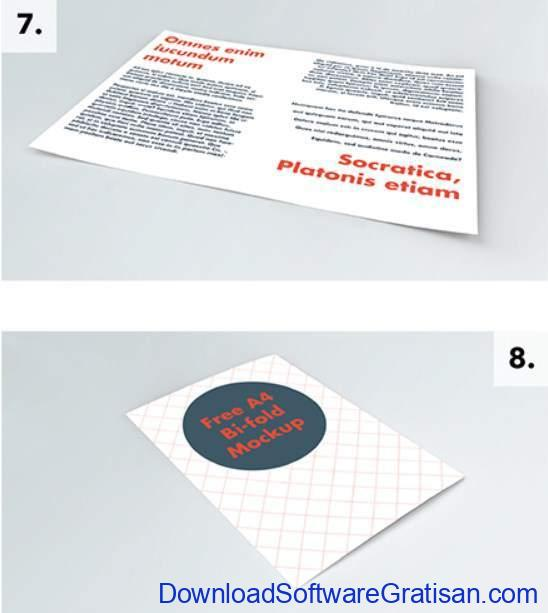 Brochure PSD Mockups Set by Justin Horne