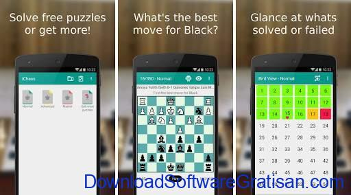 Game Catur Online & Offline Terbaik Android Chess PuzzlesiChess Free