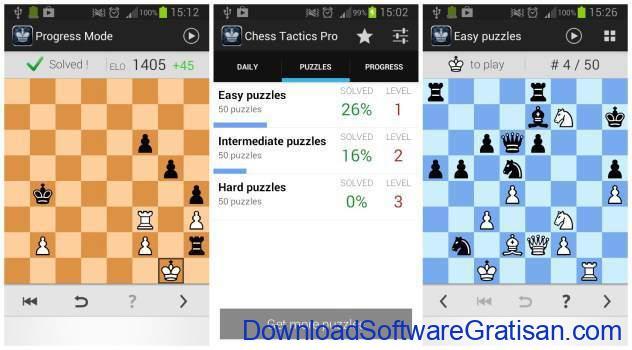 Game Catur Online & Offline Terbaik Android Chess Tactics Pro