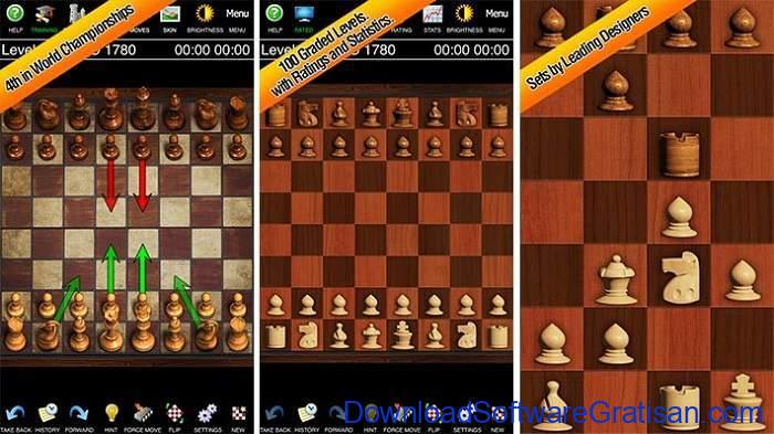 Game Catur Online & Offline Terbaik Android Chess by Mastersoft