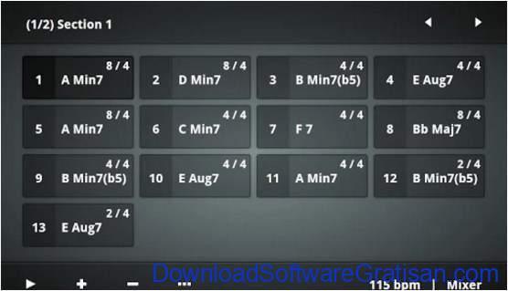 Aplikasi Pembuat Musik Gratis Terbaik untuk Android Chordbot Pro