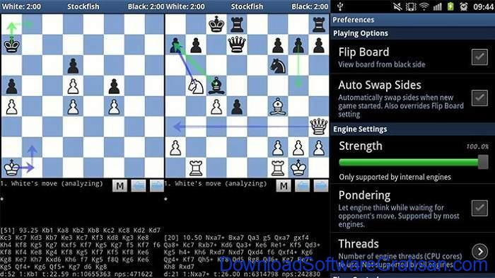 Game Catur Online & Offline Terbaik Android DroidFish Chess
