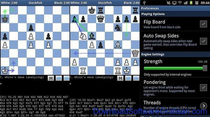 Game Catur Online & Offline Terbaik Android DroidFish Chess