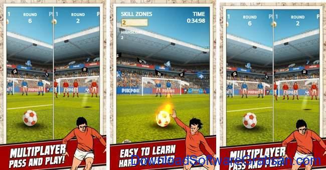 Game Sepakbola Gratis untuk Android Flick Kick Football Kickoff android soccer game