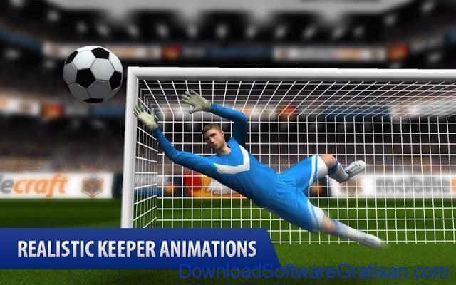 Game Sepakbola Gratis untuk Android Flick Shoot (Soccer Football)
