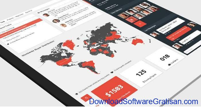 FokiraDesh Dashboard UI Template by TrendyTheme