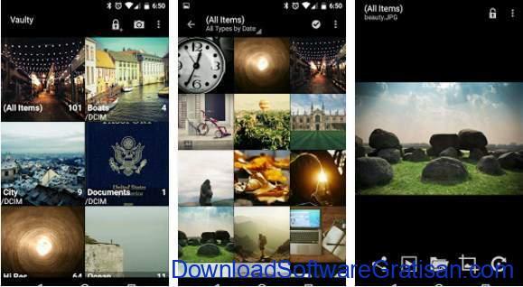 Aplikasi Android untuk Menyembunyikan Foto dan Video Hide Pictures &Videos - Vaulty
