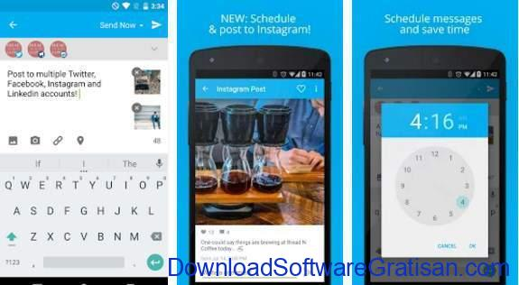 Aplikasi Twitter Terbaik Android Hootsuite for Twitter & Social