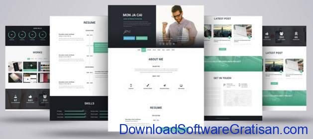 I-AM-X Web CV Template by TrendyTheme