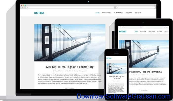 Kotha Theme by Shaped Theme