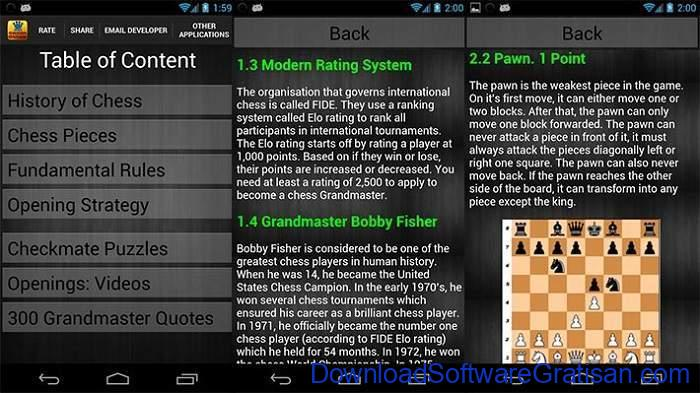 Game Catur Online & Offline Terbaik Android Learn Chess