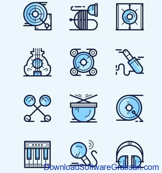 Music Icons by Davide Pacilio