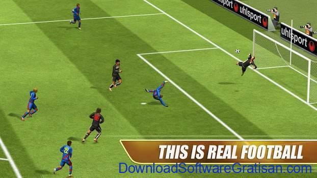 Game Sepakbola Gratis untuk Android Real Football 2013