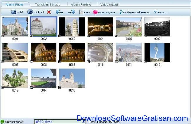 Download Aplikasi Membuat Video dari Foto di Laptop SS